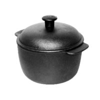 Cast Iron Casserole 2,5L with Cast Iron Lid