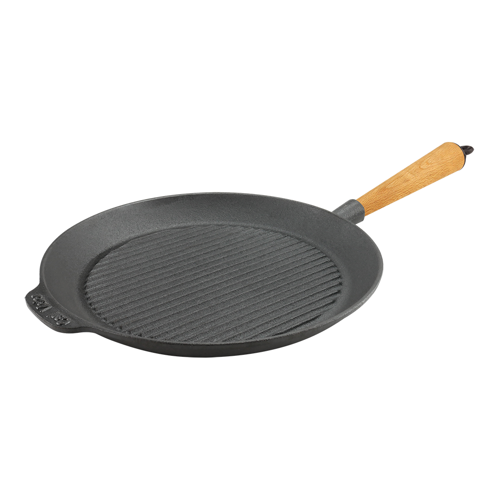 Cast Iron Griddle Pan 28cm