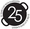 25 Jahre Gusseisen Garantie